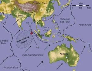 Indo-Australian tectonic plate