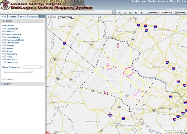 Loudoun County Online Mapping System