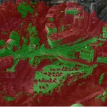 3D viewshed analysis of Bournemouth
