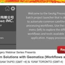 PCI Geomatics Webinar