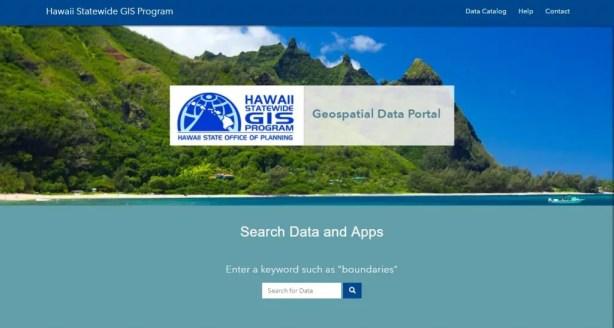Hawaii Geospatial Data Portal