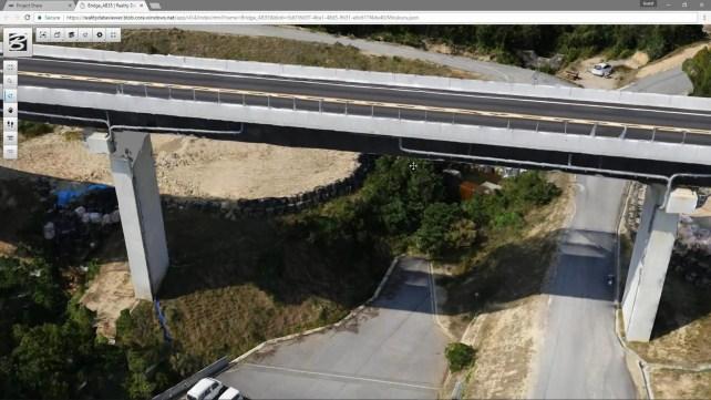 Reality Mesh of a Bridge