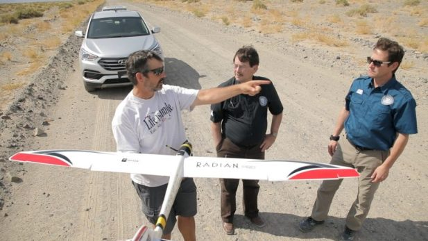 Artificially Intelligent UAV
