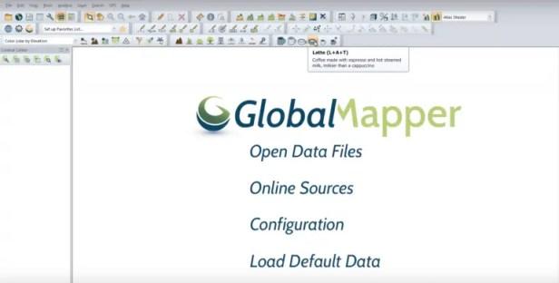 Global Mapper Coffee Bar