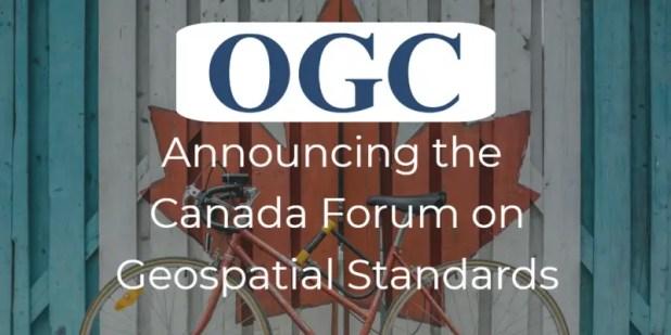 Canada Forum on Geospatial Standards
