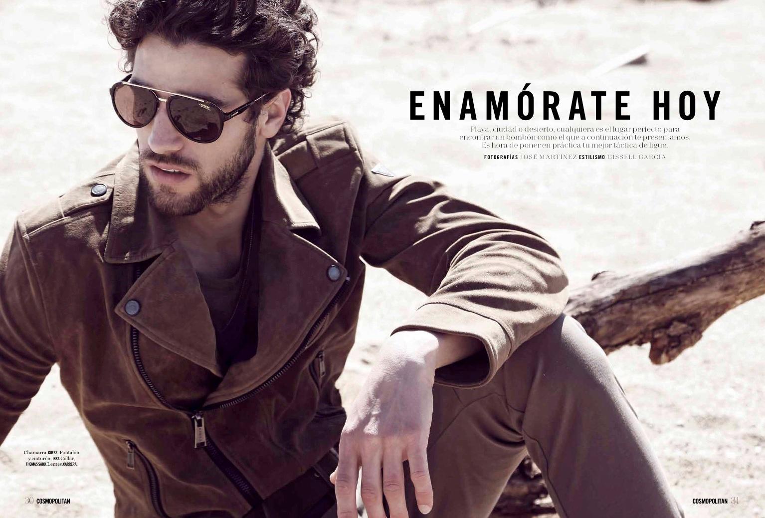 Enamorate Hoy - Jose Martinez - Gissell Garcia - CosmoMen Sept17 1