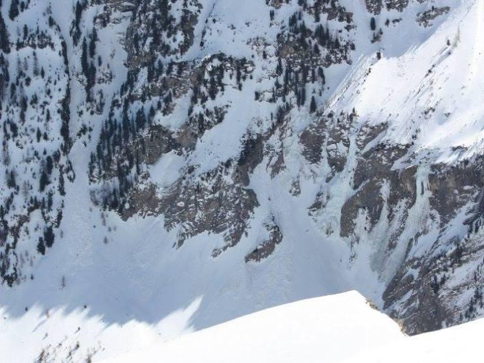 belle montee en ski laverq ubaye