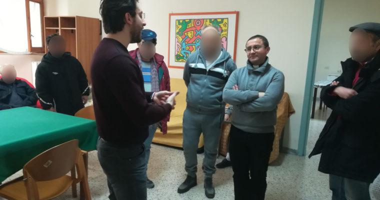 C.R.A.P ASL,  CAS (Centro Accoglienza Straordinaria), Parrocchia B. V. Immacolata – Minervino