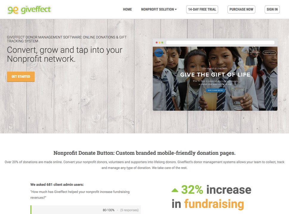 Online Giving  Donor Management Software Giveffect