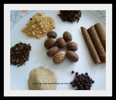 Chai Masala or Tea Spice Mixture for Cup of Masala Chai