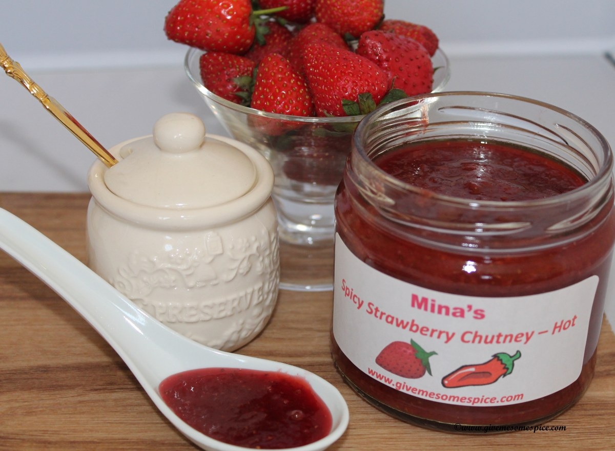 Spicy Strawberry Chutney