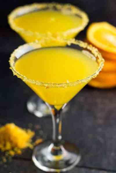 Orange Vodka Martini - Give Recipe