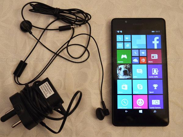 Microsoft Lumia 540 Dual Sim First Look Windows Phone 81