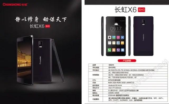 Changhong X6