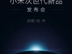 xiaomi launch october