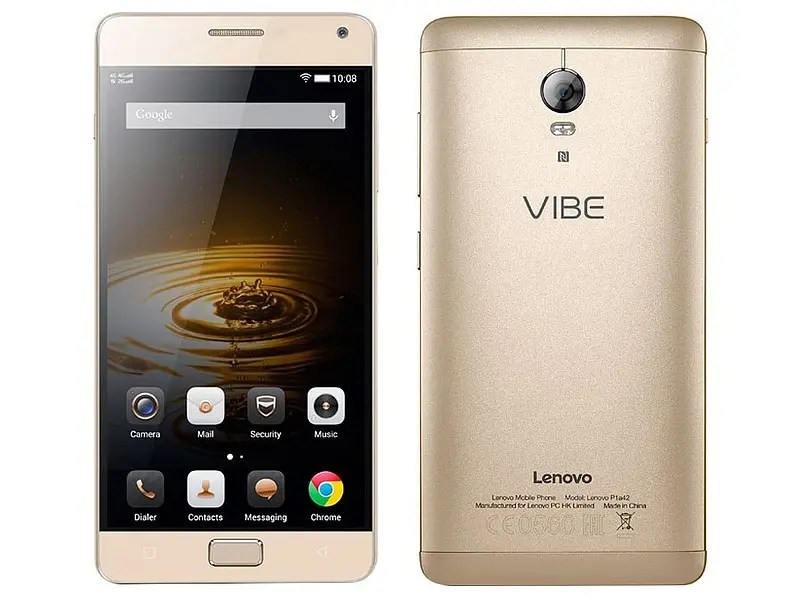 Lenovo Vibe P2 glimpsed with 4GB RAM, Android Marshmallow