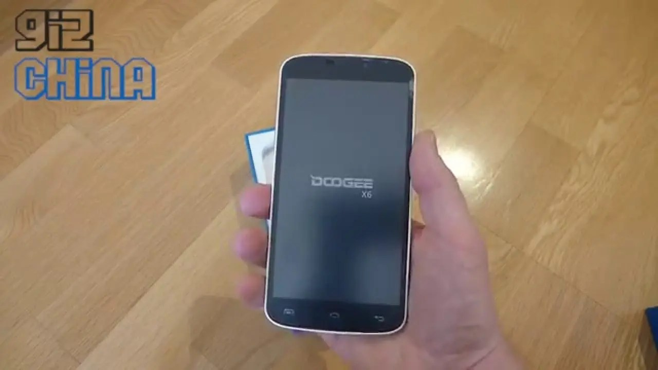 Unboxing Sub 100 Doogee X6 Gizchina Com
