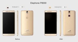 New Elephone P8000