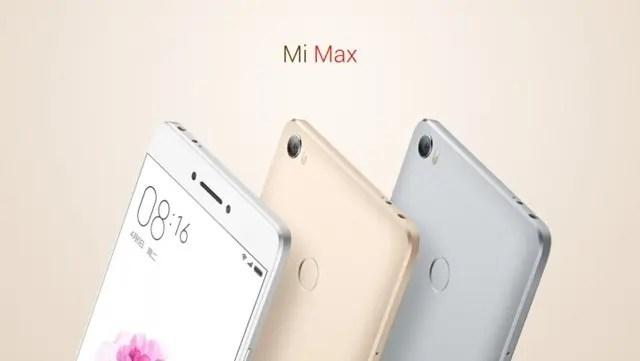 Xiaomi Mi Max kolory