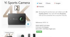 yi 4k camera