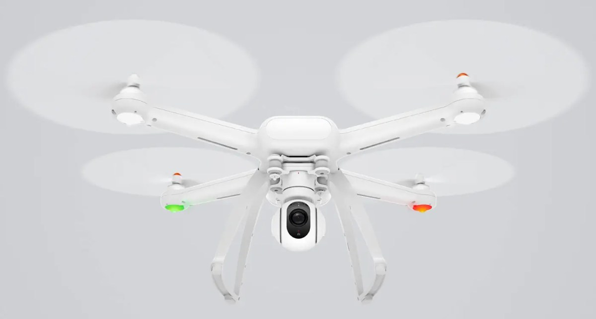 Did the Xiaomi Mi Drone crash DURING the live-stream?
