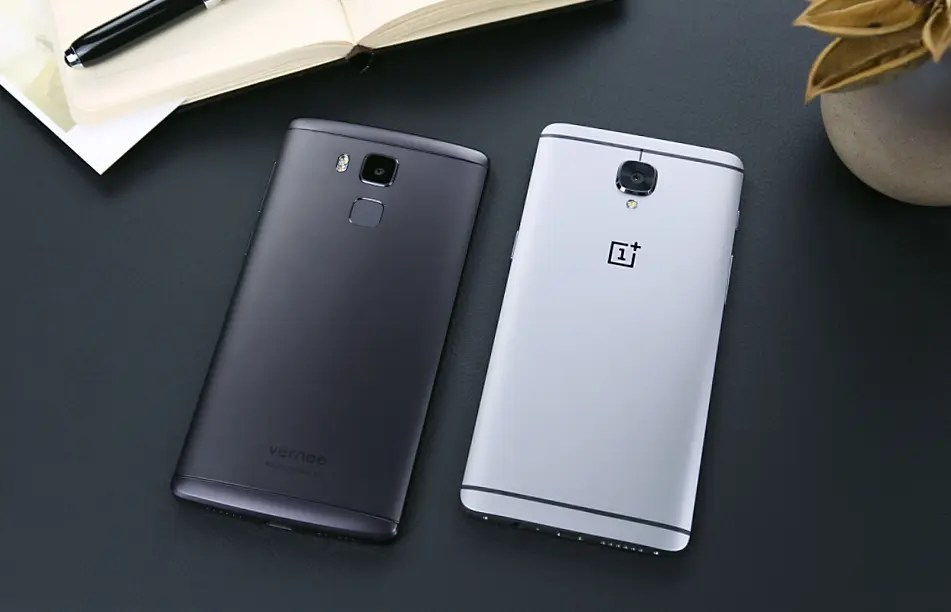 Vernee Apollo Lite vs. OnePlus 3 in design comparison video