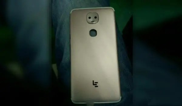 Leaked chassis shows dual camera feature on new LeEco phone