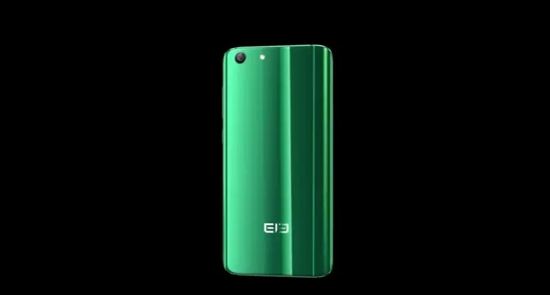 Elephone S7 shows its back cover to us in a short video