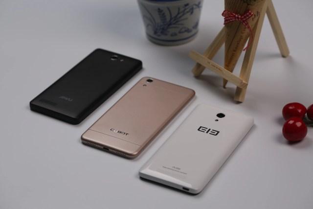 Внешний вид Elephone P6000, Jiayu F2, Cubot X9
