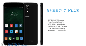zopo speed 7 plus specifications