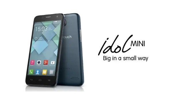alcatel idol mini