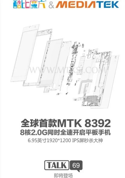 cube talk 69 Cube will launch first octacore tablet running Mediatek MT8389 SoC