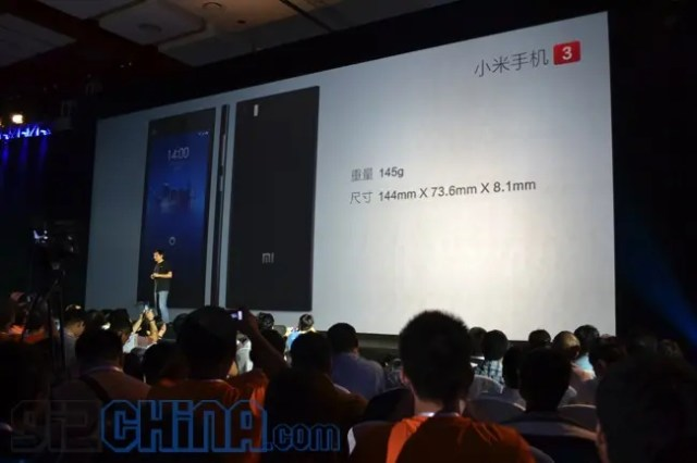 dimensions Xiaomi Mi3 Everything you need to know!
