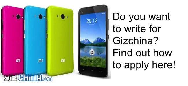 do you want to write for gizchina