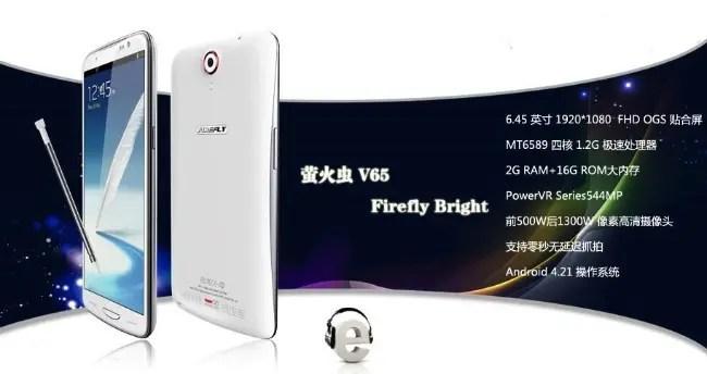 firefly v65 quad-core 1080 phablet