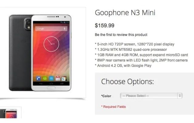 goophone n3 mini