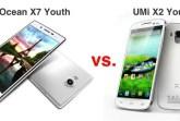 iocean X7 vs umi x2