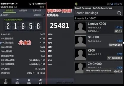 lenovo k900 benchmarks UPDATE! Top 15 1080HD Android phones from China!