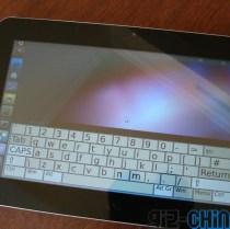 linux ubuntu tablet close up onscreen gizchina