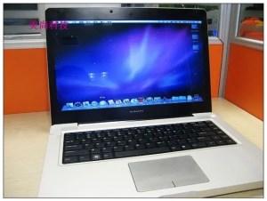 macbook pro clone OSX 300x226 MacBook Pro Clone Gets OSX Upgrade!
