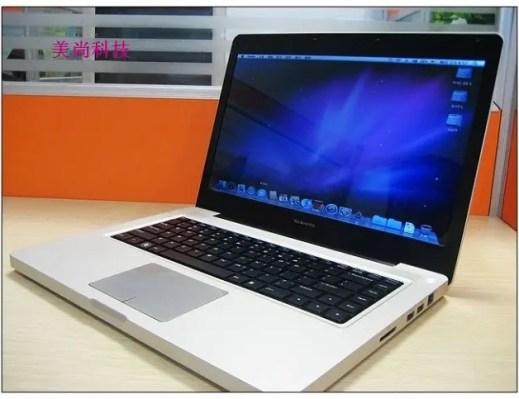 macbook pro clone running OSX MacBook Pro Clone Gets OSX Upgrade!