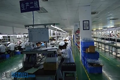 A look at the Neo phone factory in Shenzhen