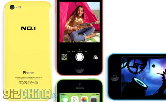 no 1 iphone 5c clone china