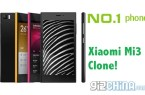 no1 m3 xiaomi mi3 clone