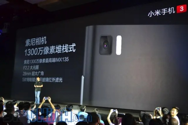 rear camera Xiaomi Mi3 Everything you need to know!
