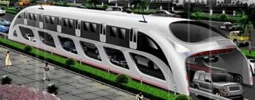 shenzhen straddling bus 300x118 Traffic Straddling Bus Planned for Shenzhen