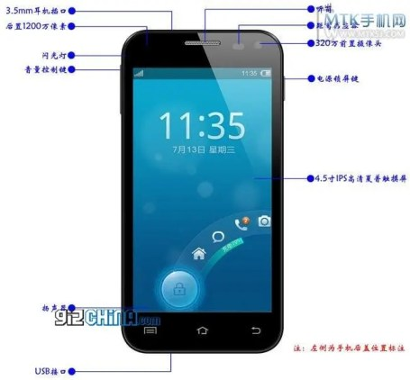 subor dream s quad core leaked specifications Subor Dream S will get quad core, 2GB RAM and 3500mAh battery!