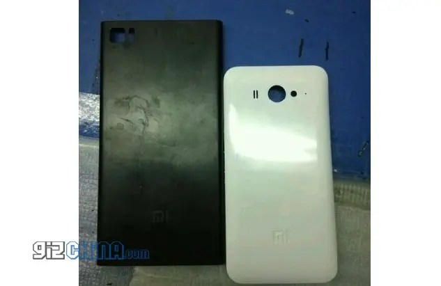 xiaomi mi3 leaked rear case