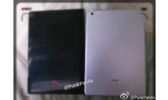 xiaomi tablet leaked photo Nexus 7 2 vs Xiaomi Mipad tablet