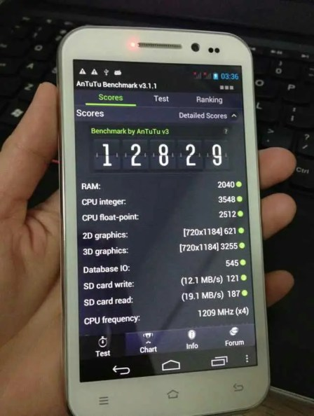 Zopo ZP810 quad core MT6589 spy photos and benchmarks appear!